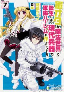 Gun-Ota ga Mahou Sekai ni Tensei shitara, Gendai Heiki de Guntai Harem wo Tsukucchaimashita!?