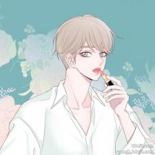 Boy's lipstick
